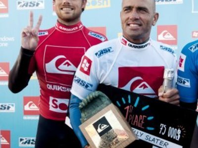 copyright Rabejac | Kelly Slater Claims Quiksilver Pro France 2012