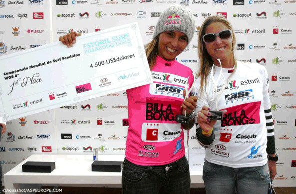 Credit:Aquashot/ASP Europe | Sally Fitzgibbons Wins Estoril Surf Billabong Girls