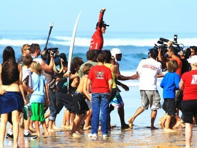 Credit: ©  Chauche | KOTG Final in Hossegor 2010 | Matt Banting wins KOTG 2010
