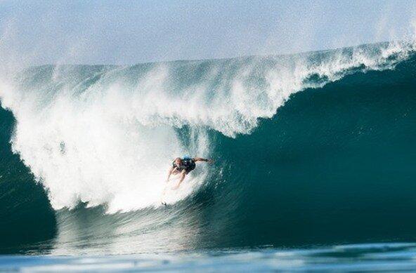 Credit: ASP Dave Prodan | Mick Fanning Weltmeister im Wellenreiten 2013
