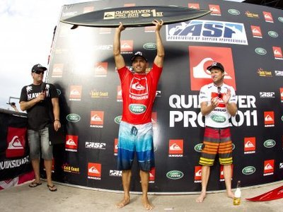photographer kerstin/quiksilver | Kelly Slater wins 11th ASP World Title