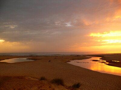Traumhafte Sonnenuntergänge an der französischen Atlantikküste