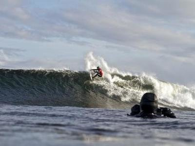 Royden Bryson wins the O'Neill Cold Water Classic Scotland 2010