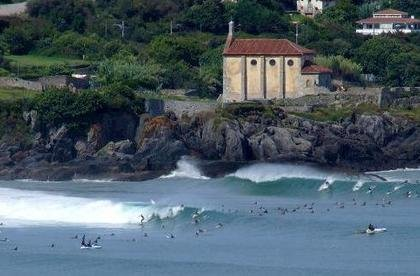 Mundaka | Pais Vasco | Great and longest  lefthander in europe| ©Adolfo pixelio.de