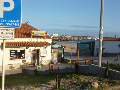 Wellenreiten in Peniche