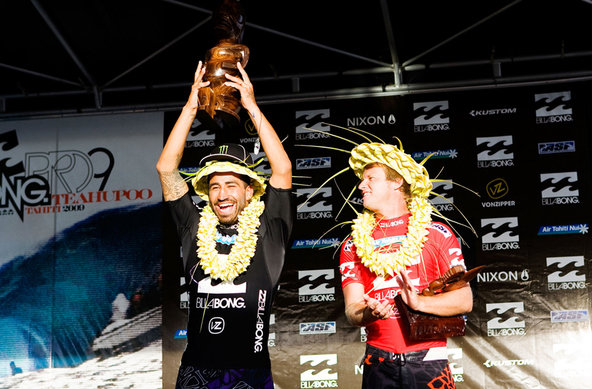 Bobby Martinez and Taj Burrow - Credit: © ASP/ CI/ SCHOLTZ