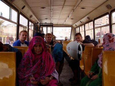 Mit dem Bus vom Flughafen Agadir nach Taghazout | Surfcamps in Marokko