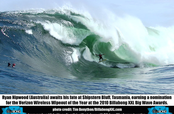 photo: Tim Bonython | Billabong XXL Biggest Wave Award 2010
