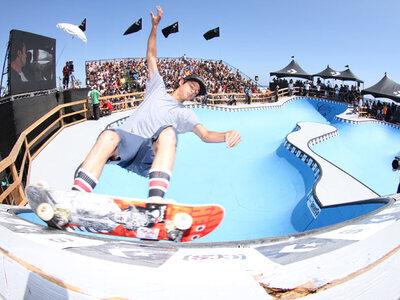 Brett Simpson gewinnt die US Open 2010 im Wellenreiten