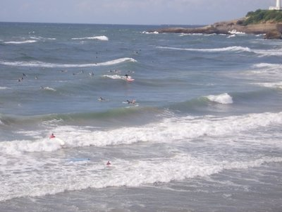 Basque Coast | Biarritz | Grande Plage | surfing France