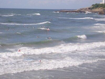 Basque Coast | Biarritz | Grande Plage | surfing France
