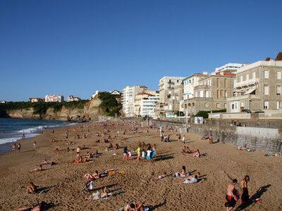 Hauptstrand Grande Plage in Biarritz