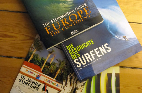 Wellenreiten Bücher | Stormrider Guide Europe | Wave Culture etc.