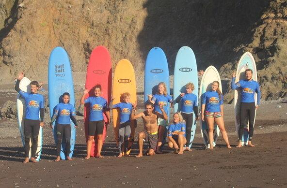 Hotel Vila Bela and Calhau Surf School Madeira