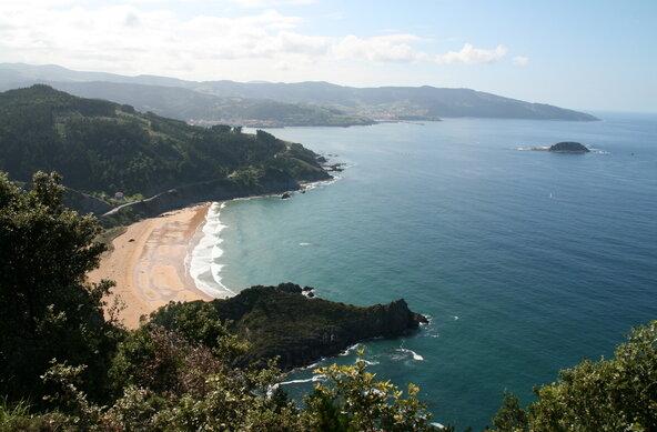 Wellenreiten im Baskenland