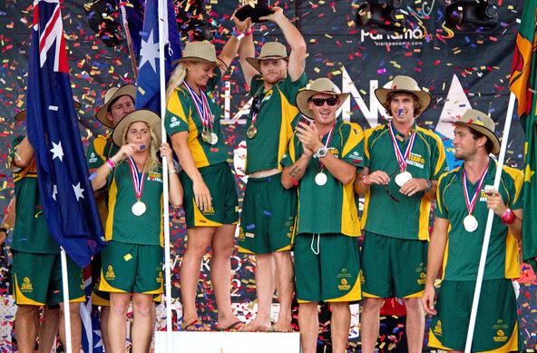 Australia Wins the  Billabong ISA World Surfing Games 2011