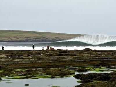 Brent Dorrington gewinnt die O'Neill Water Classic Schottland
