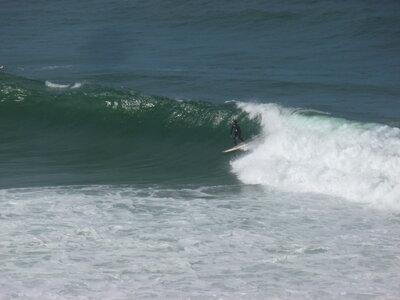 Surfspot Coxos | Perfekt rechte Welle - Kopf hoch!