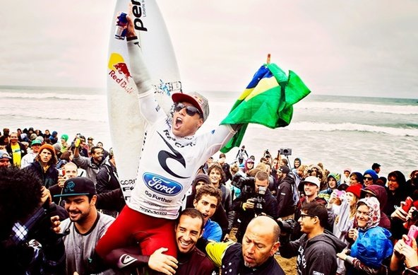 Credit: © ASP/ SCHOLTZ | Adriano de Souza Takes Rip Curl Pro Bells Beach Win Over Rookie Nat Young