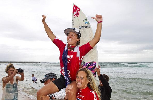 Credit: ASP / SCHOLTZ | Alizee Arnaud gewinnt Weltmeistertitel bei den World Junior Championships in Sydney