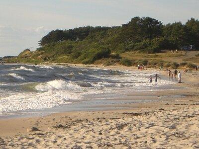 Bornholm in der Ostsee | Dänemark | Wellenreiten | ©tutto62 pixelio.de