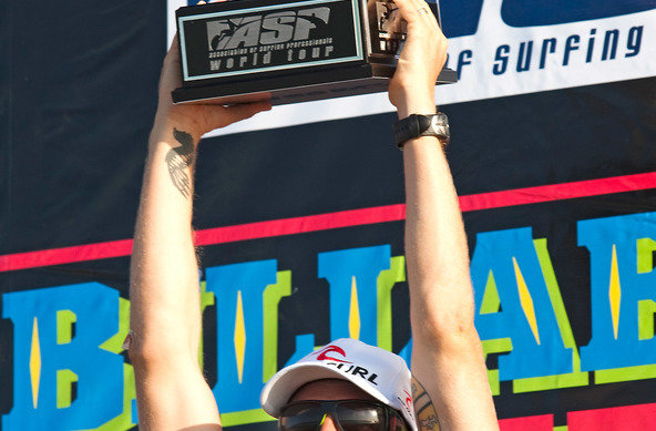 ASP/CI via Getty Images | Mick Fanning Weltmeister im Wellenreiten 2009