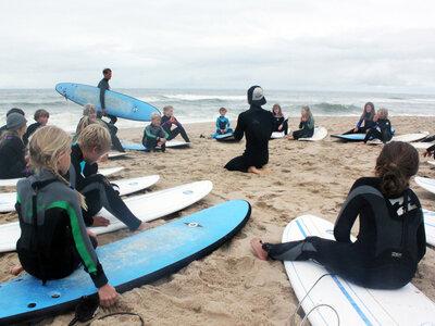 Billabong Sylt Surfcamp 2011 am Strand von Rantum