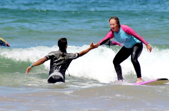 profetional surf school morocco
