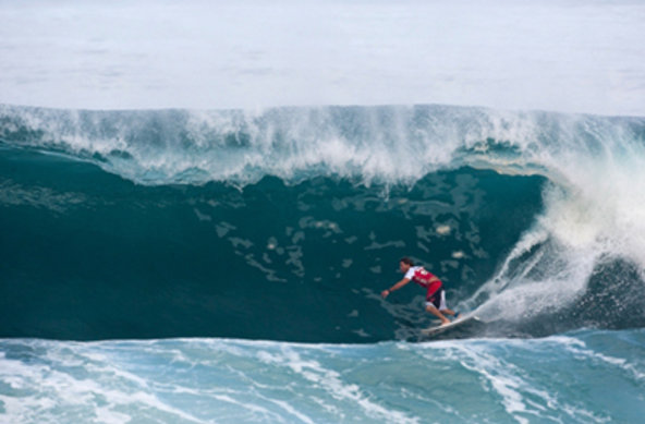 Credit: ASP/CESTARI/Getty Images |  Andy Irons knows the Backdoor like the back of his hand