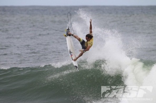 Credit: ASP/Kirstin | Jordy Smith Wins Billabong Rio Pro 2013