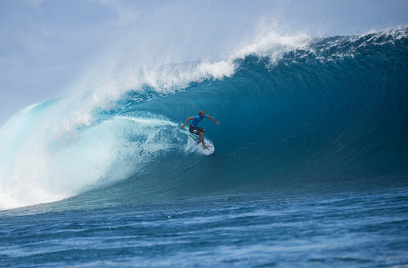 Image: WSL / Kirstin | Owen Wright (AUS) makes history as he claims victory today at the Fiji Pro