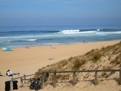 Surfing St. Girons Plage