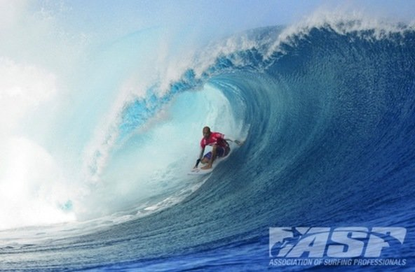 Kelly Slater (USA), 41, took out his second consecutive Volcom Fiji Pro Title, defeating Mick Fanning (AUS)
