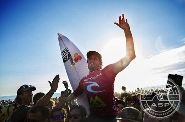 Credit: ASP/SCHOLTZ | Kai Otton Wins Rip Curl Pro Portugal 2013