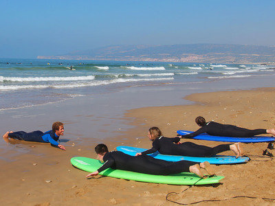 Surf Camp coaching Morocco Yoga