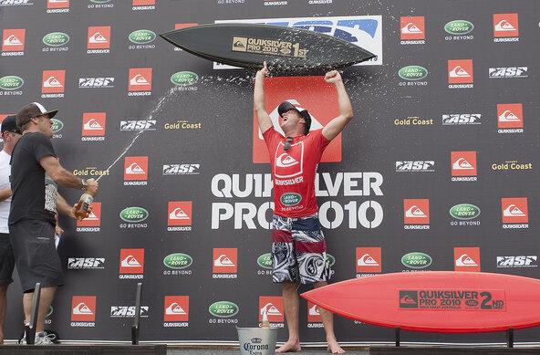 Credit: © ASP / Cestari | Taj Burrow gewinnt den Quik Pro Gold Coast