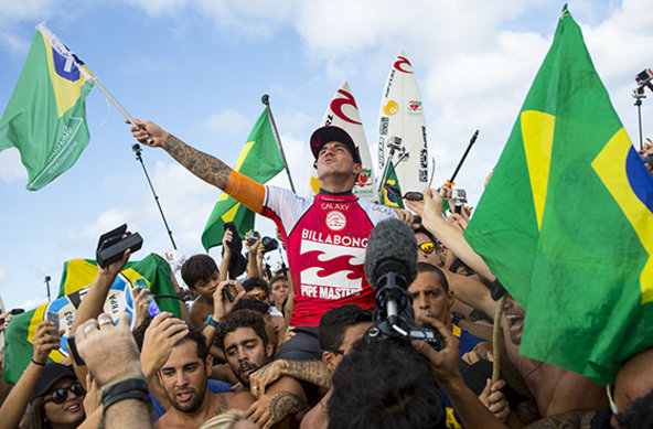 Image: ASP / Kirstin Scholtz | Gabriel Medina (BRA) is the 2014 ASP World Champion