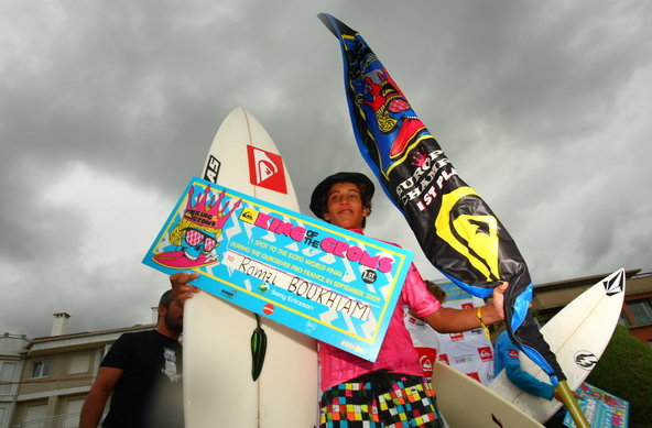 Photographer Chauche | King of the Groms 2009 in Zarautz | Ramzi Boukhiam | Credit Chauche