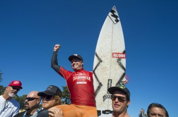 Taj Burrow Wins O'Neill Coldwater Classic