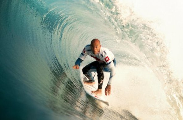 copyright Rabejac   Kelly Slater Claims Quiksilver Pro France 2012