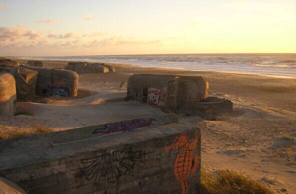 Surfing Denmark   surf spot Bunkers