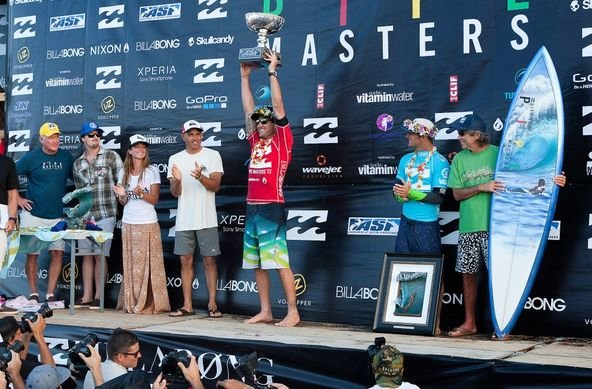 Photo: ASP/Cestari.    Joel Parkinson ASP World Champion 2012