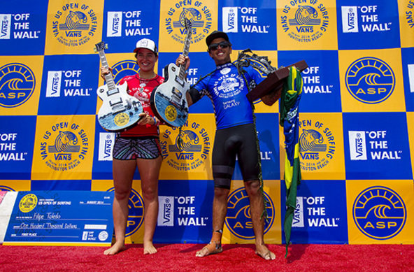 Image: ASP/Morris | Wright and Toledo Win Vans US Open of Surfing