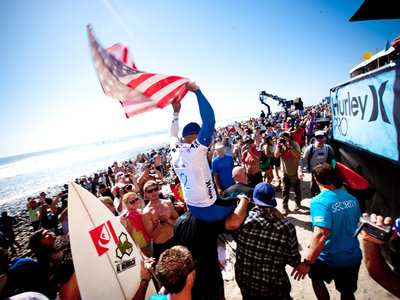 Hurley Pro 2010 | Slater leads the WCT