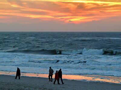 Westerland | Surfspots | Sonnenuntergang | Surfsession | Ernst Rose pixelio.de