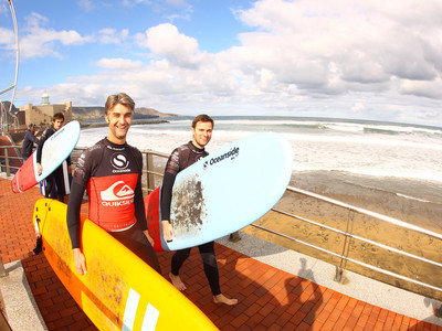 Quiksilver Ocean Side Surf School and Surf Camp Gran Canaria