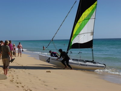 Cat Sailing Jandia Playa