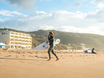 Photographer Lars Jacobsen | Surfing Portugal - Nico von Rupp