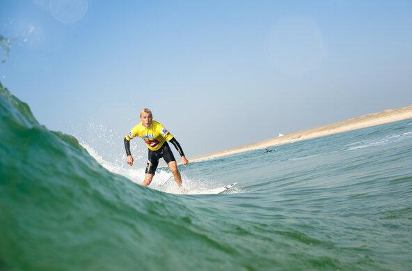 Surfen in Südfrankreich