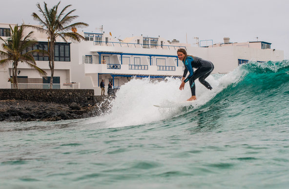 Surfing Lanzarote | Photographer Lars Jacobsen